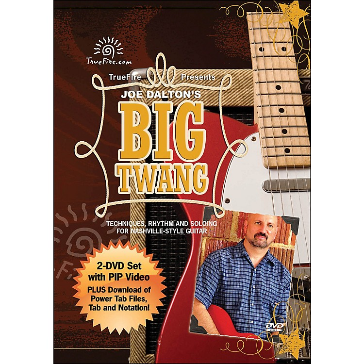Hal Leonard Big Twang - Instructional Guitar 2-DVD Pack Featuring Joe Dalton