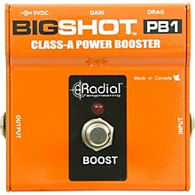 Radial Engineering BigShot PB1 Class-A Power Booster