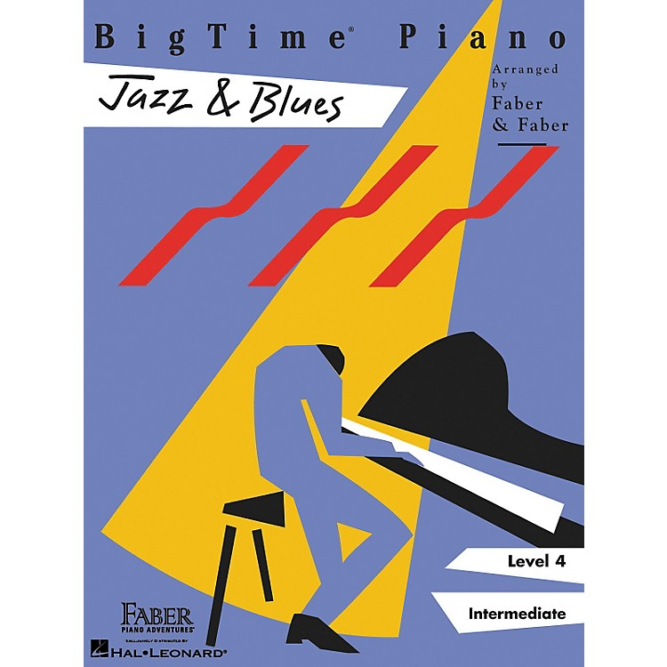 Faber Piano AdventuresBigtime Jazz & Blues L4