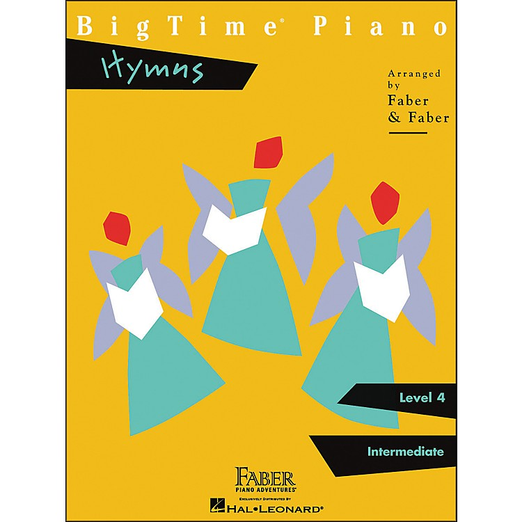 Faber MusicBigtime Piano Hymns Level 4 Intermediate - Faber Piano