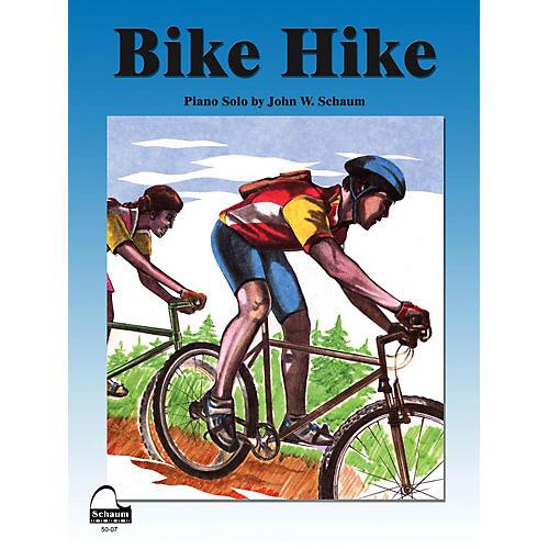 SCHAUM Bike Hike Educational Piano Series Softcover-thumbnail