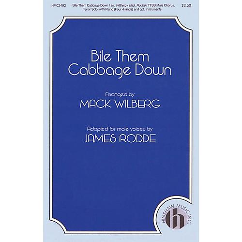 Hinshaw Music Bile Them Cabbage Down TTBB arranged by Mack Wilberg-thumbnail