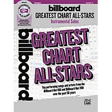 Alfred Billboard Greatest Chart All-Stars Instrumental Solos Trumpet Book & CD Level 2-3