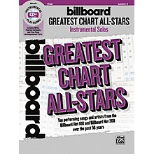 Alfred Billboard Greatest Chart All-Stars Instrumental Solos for Strings Viola Book & CD Level 2-3