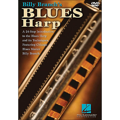 Hal Leonard Billy Branch's Blues Harp (DVD)
