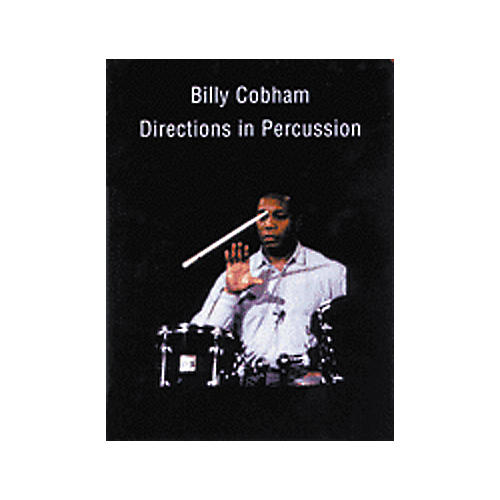 Alfred Billy Cobham Directions in Percussion (Book/CD)