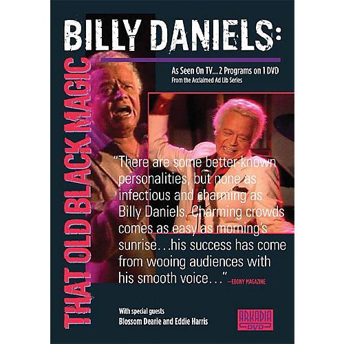Hal Leonard Billy Daniels - That Old Black Magic (Visions of Jazz Series) DVD Series DVD Performed by Billy Daniels