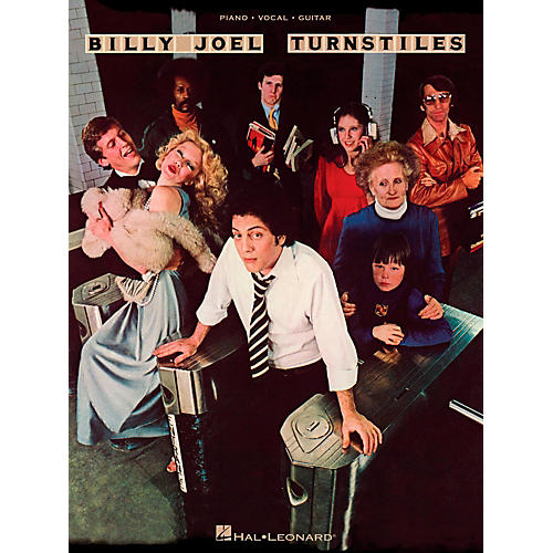 Hal Leonard Billy Joel - Turnstiles for Piano/Vocal/Guitar (P/V/G)