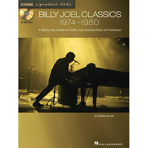Hal Leonard Billy Joel Classics: 1974-1980 Signature Licks Guitar Series Softcover with CD Written by Robbie Gennet-thumbnail