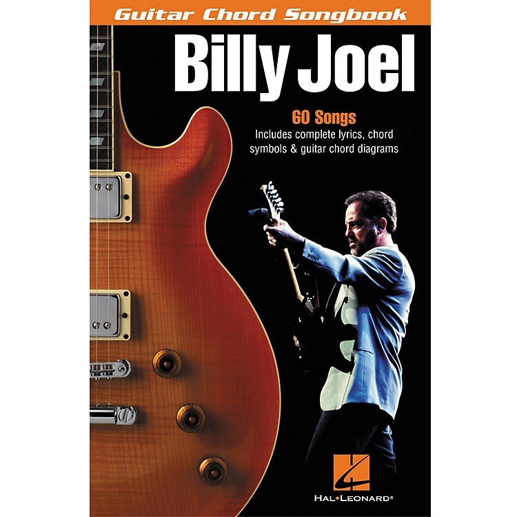 Hal Leonard Billy Joel Guitar Chord Songbook