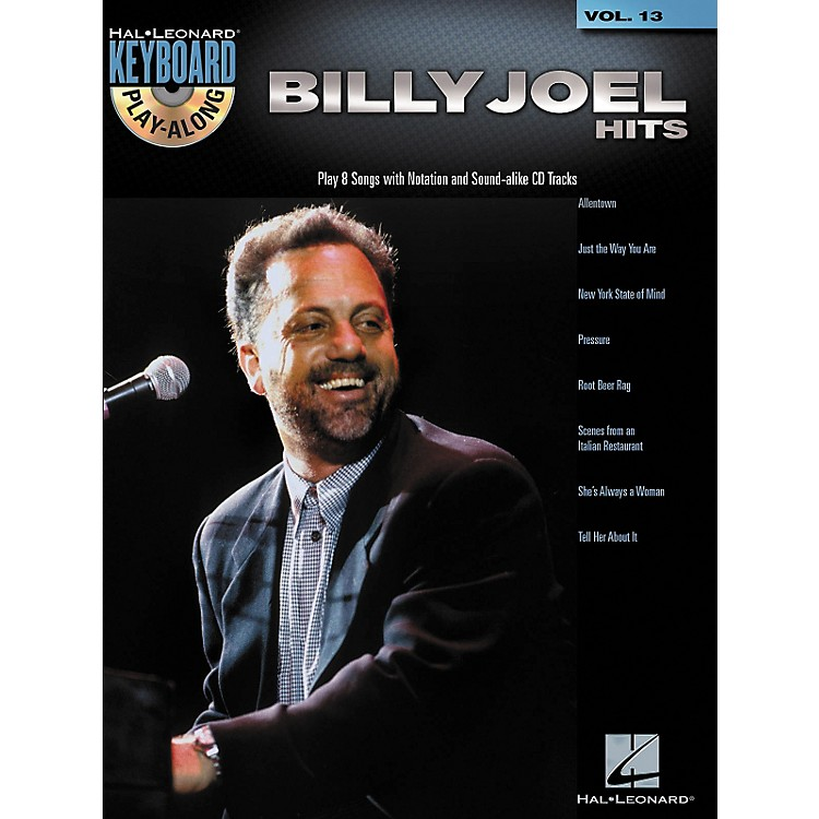 Hal Leonard Billy Joel Hits - Keyboard Play-Along, Volume 13 (Book/CD)