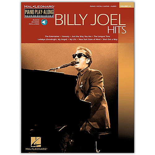 Hal Leonard Billy Joel Hits Piano Play-Along Volume 62 Book/CD arranged for piano, vocal, and guitar (P/V/G)