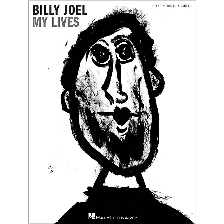 Hal Leonard Billy Joel My Lives arranged for piano, vocal, and guitar (P/V/G)