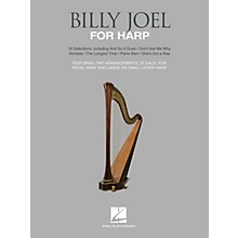 Hal Leonard Billy Joel for Harp (10 Selections for Lever and Pedal Harp) Folk Harp Series Softcover by Billy Joel