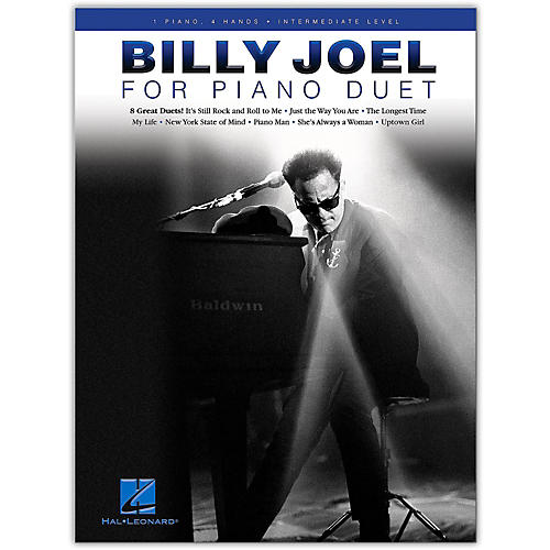 Hal Leonard Billy Joel for Piano Duet - 1 Piano, 4 Hands / Intermediate Level-thumbnail