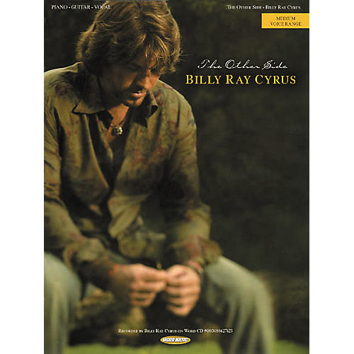 Word Music Billy Ray Cyrus - The Other Side Piano, Vocal, Guitar Songbook
