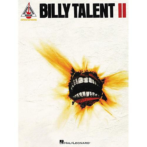 Hal Leonard Billy Talent II Guitar Tab Songbook-thumbnail