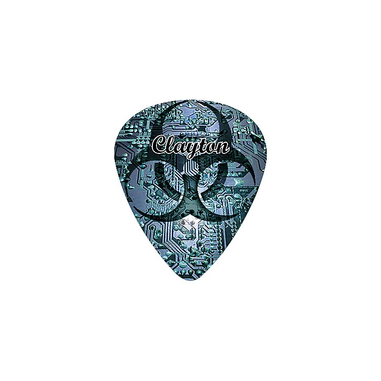 Clayton Bio Hazard Guitar Pick Standard .80MM 1 Dozen