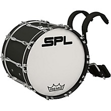 Sound Percussion Labs Birch Marching Bass Drum with Carrier 26 x 14 in. Black