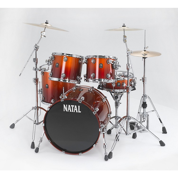 Natal DrumsBirch Rock 5-Piece Shell PackSunburst Fade
