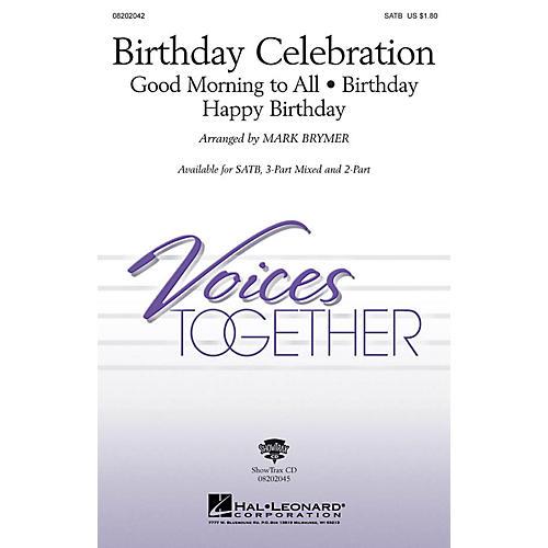 Hal Leonard Birthday Celebration (Medley) 2-Part Arranged by Mark Brymer-thumbnail