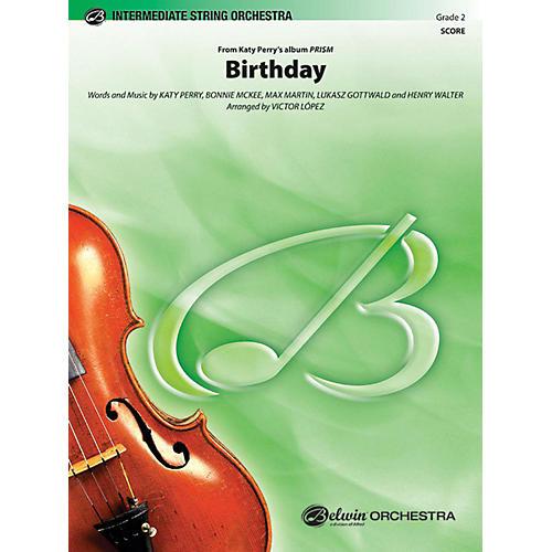 Alfred Birthday String Orchestra Grade 2-thumbnail