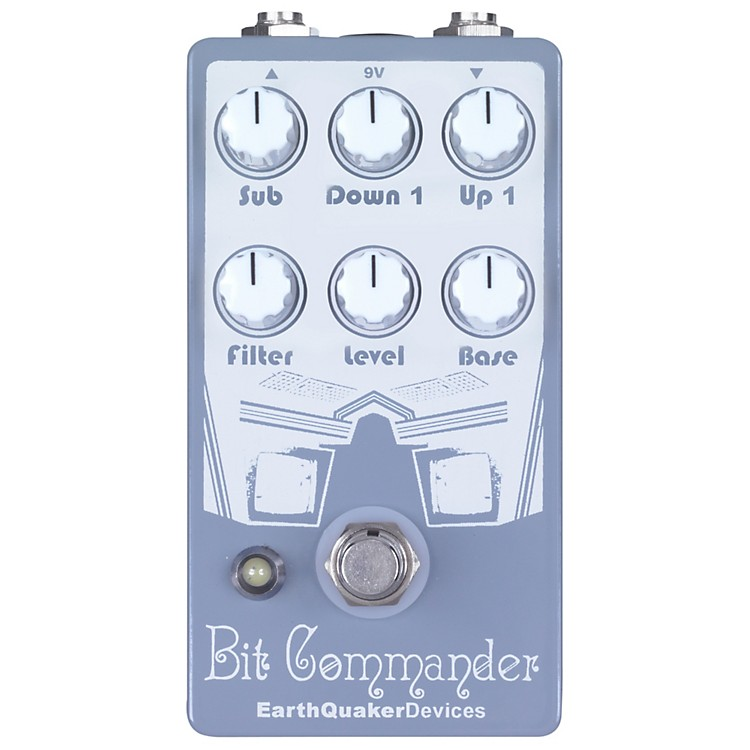 EarthQuaker DevicesBit Commander Octave Synth Guitar Effects Pedal