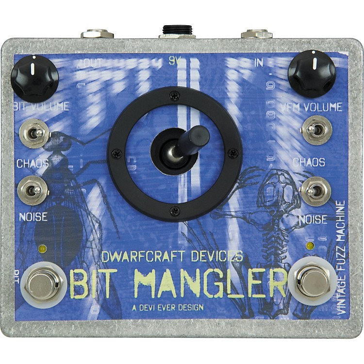 Dwarfcraft Bit Mangler Distortion Guitar Effects Pedal