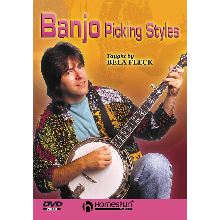 Homespun Béla Fleck Teaches Banjo Picking Styles (DVD)
