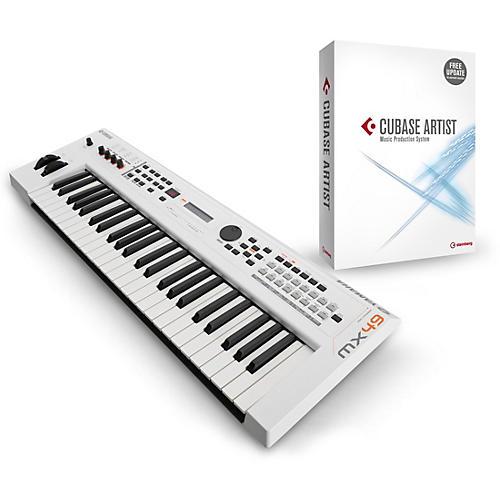 Yamaha Black 49 Key Music Production Synthesizer With Cubase Artist-thumbnail