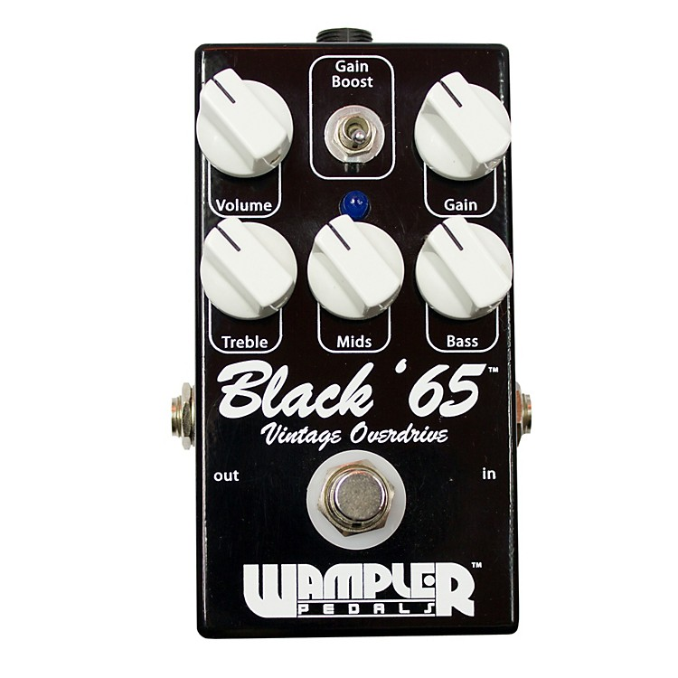 Wampler Black 65 Overdrive Guitar Effects Pedal