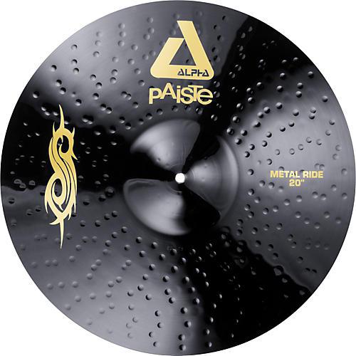 Paiste Black Alpha Slipknot Edition Metal Ride Cymbal-thumbnail