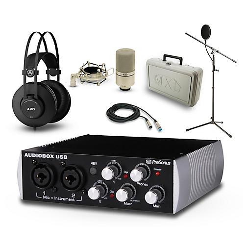 PreSonus Black Audiobox, K52 and 990 Package
