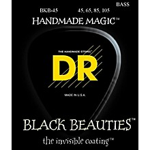 DR Strings Black Beauties Medium 4-String Bass Strings