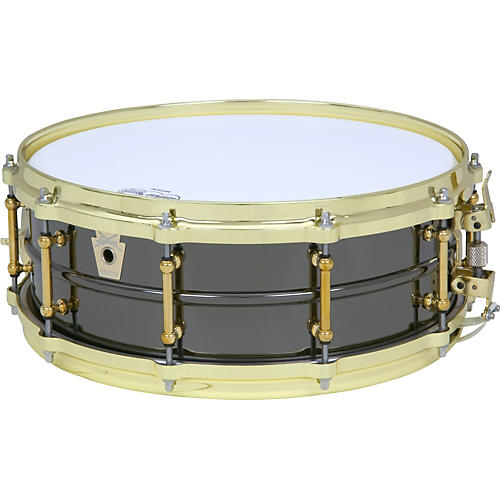 Ludwig Black Beauty Brass on Brass Snare Drum
