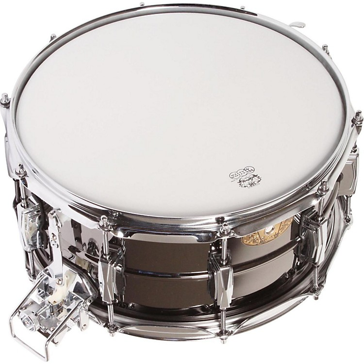 Ludwig Black Beauty Snare with Super-Sensitive Snares  6.5X14 Inches