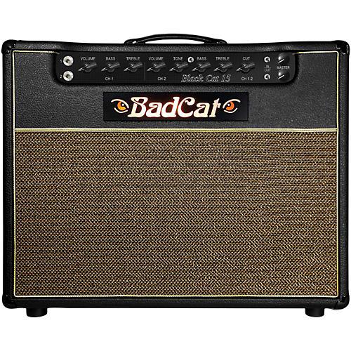 Bad Cat Black Cat 15 15W 1x12 Tube Guitar Combo Amp Black