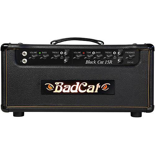 Bad Cat Black Cat 15W Guitar Head with Reverb-thumbnail