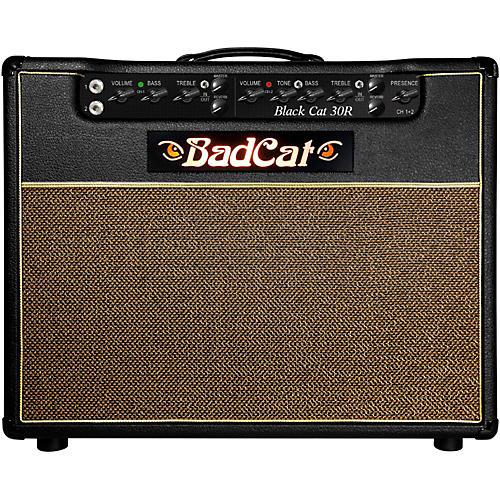 Bad Cat Black Cat R 30W 1x12 Tube Guitar Combo Amp-thumbnail
