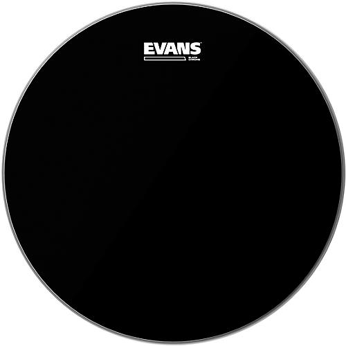 Evans Black Chrome Tom Batter Drumhead 12 in.