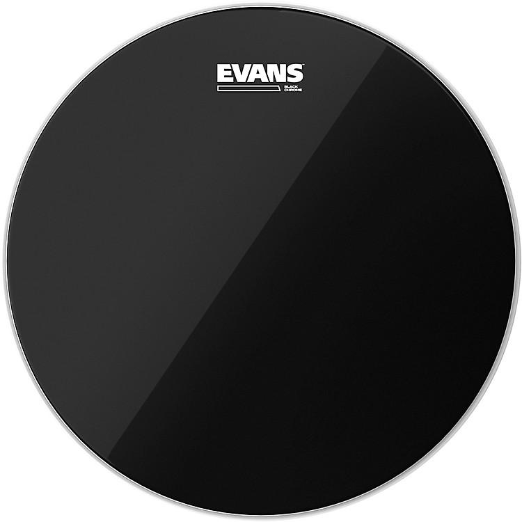 EvansBlack Chrome Tom Batter Drumhead20 Inch