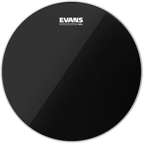 Evans Black Chrome Tom Batter Drumhead 15 in.