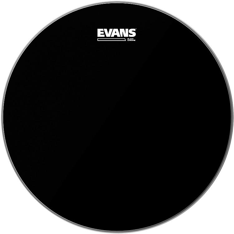 EvansBlack Chrome Tom Batter Drumhead18 Inch