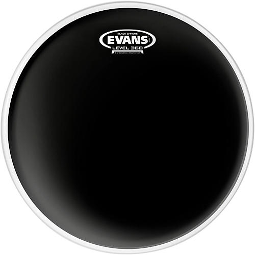 Evans Black Chrome Tom Batter Drumhead