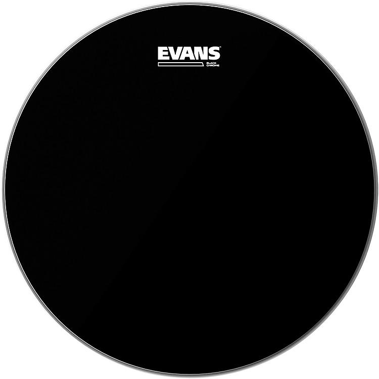 EvansBlack Chrome Tom Batter Drumhead8 Inch
