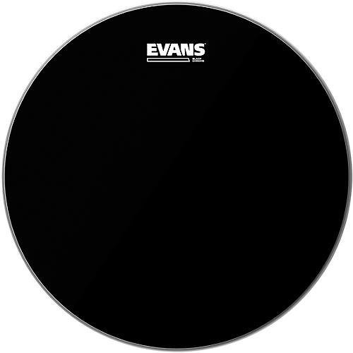 Evans Black Chrome Tom Batter Drumhead 8 in.