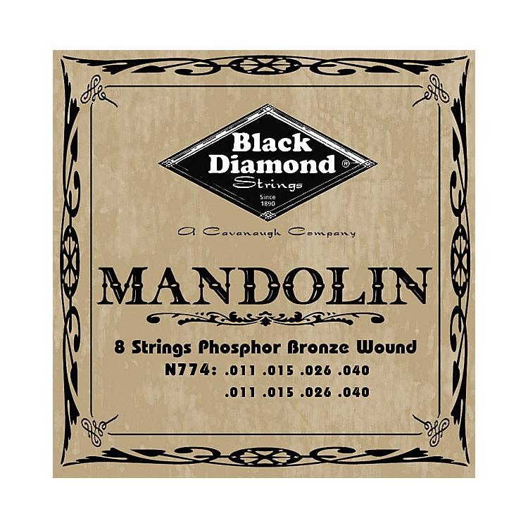 Black DiamondBlack Coated Phosphor Bronze Mandolin Strings