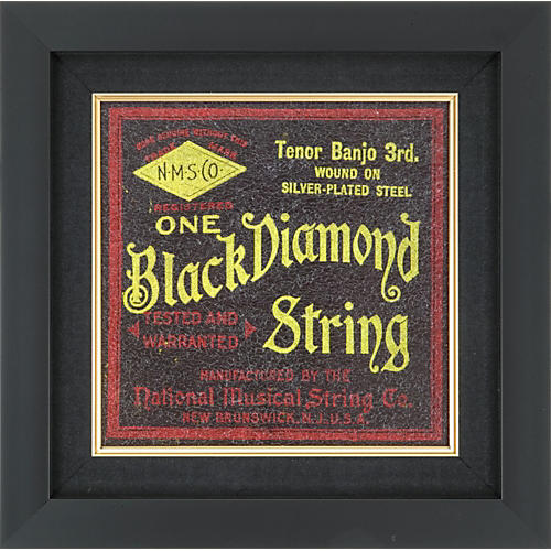Gear One Black Diamond Banjo String Plaque-thumbnail