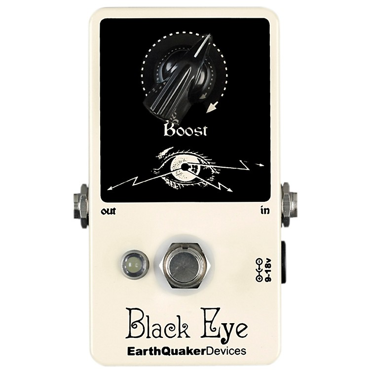 EarthQuaker Devices Black Eye Clean Boost Guitar Effects Pedal