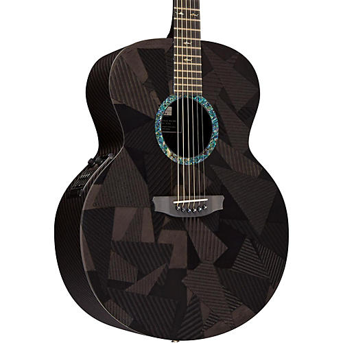 Rainsong Black Ice Series BIJM1000N2 Graphite Acoustic-Electric Guitar